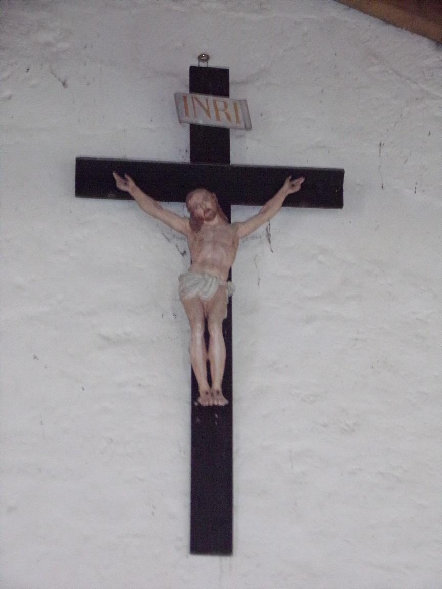 Chassors - L'église Saint-Romain - Le Crucifix (15 septembre 2018)
