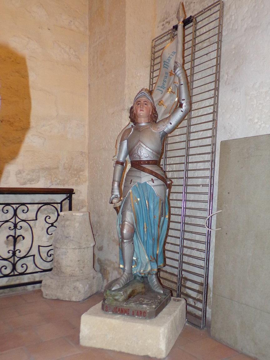 Châteaubernard - La chapelle Saint-Jean - Jeanne d'Arc (24 septembre 2018)