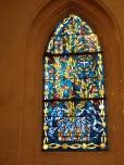 Châteaubernard - La chapelle Saint-Jean - Un vitrail (24 septembre 2018)