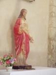 Chérac - L'église Saint-Gervais - Sacré coeur de Jésus (3 septembre 2016)