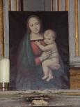Cognac - L'église Saint-Martin - Un tableau (19 janvier 2021)