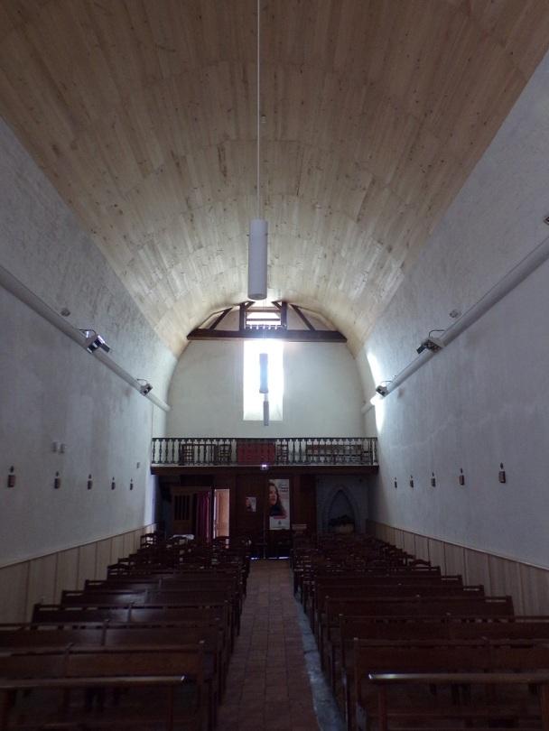 Cognac - L'église Saint-Martin - Vue de l'autel (19 janvier 2021)