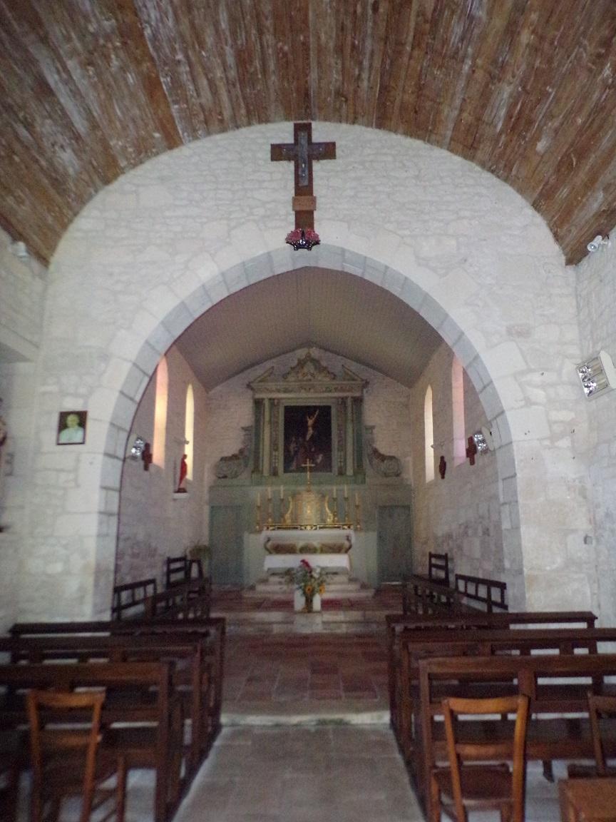 Coulonges - L'église Saint-Saturnin - Le Choeur (8 juillet 2018)