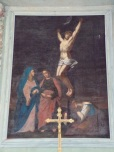 Coulonges - L'église Saint-Saturnin - Un tableau (8 juillet 2018)