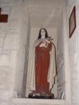 Coulonges - L'église Saint-Saturnin - Sainte Thérèse de Lisieux (24 août 2019)