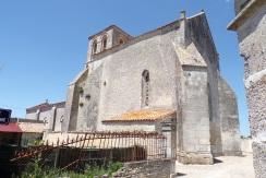 Courbillac - L'église Saint-Aubin (12 juin 2017)