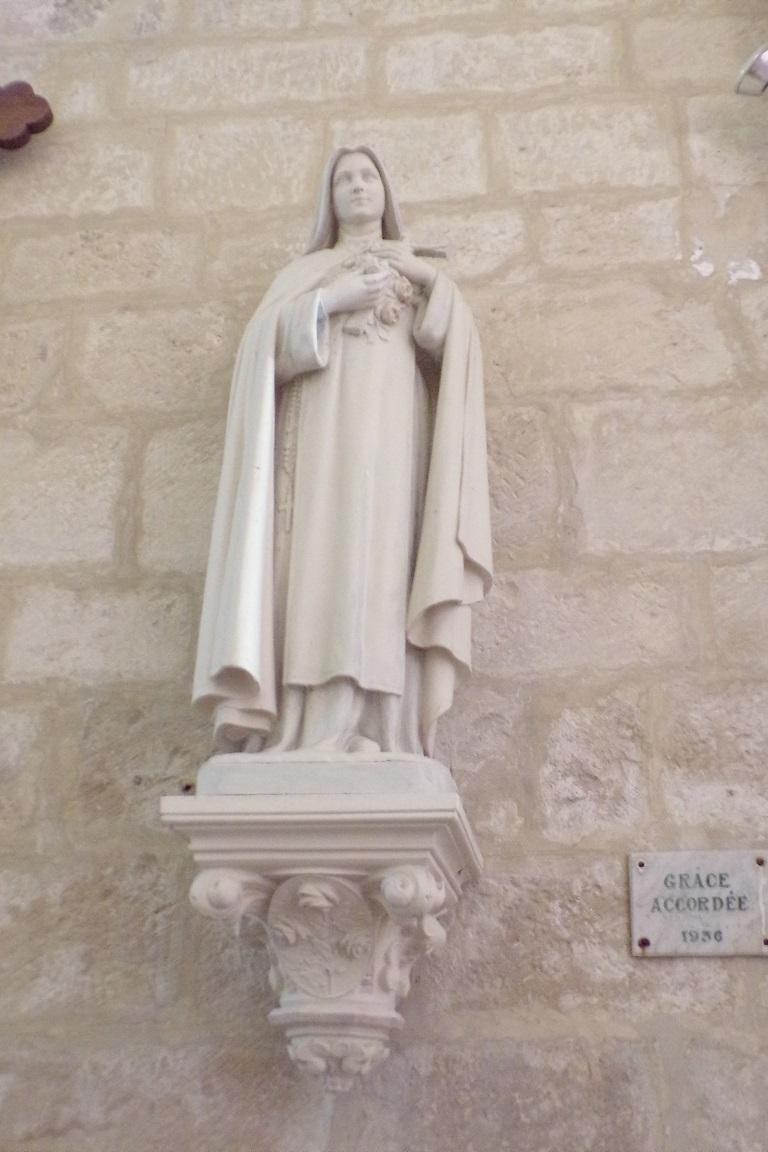 Courbillac - L'église Saint-Aubin - Sainte Thérèse de Lisieux (12 juin 2017)