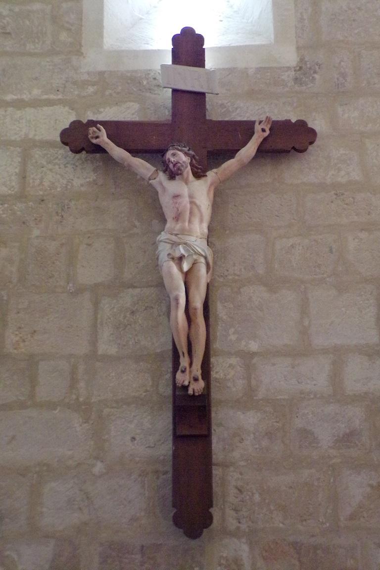 Courbillac - L'église Saint-Aubin - Le Crucifix (12 juin 2017)
