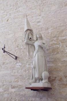Courbillac - L'église Saint-Aubin - Jeanne d'Arc (12 juin 2017)