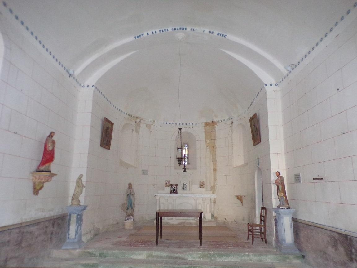 Courbillac - L'église d'Herpes - Le Choeur (23 juillet 2018)