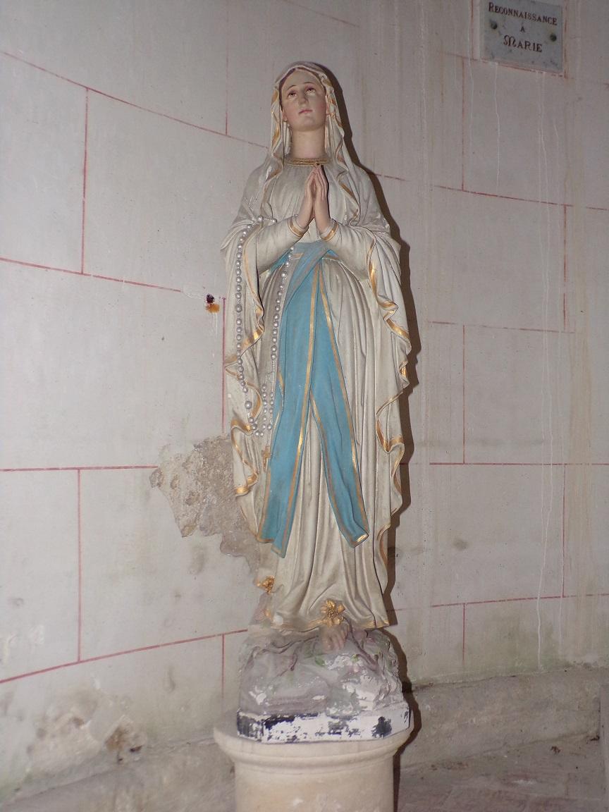 Courbillac - L'église d'Herpes - Notre Dame de Lourdes (23 juillet 2018)