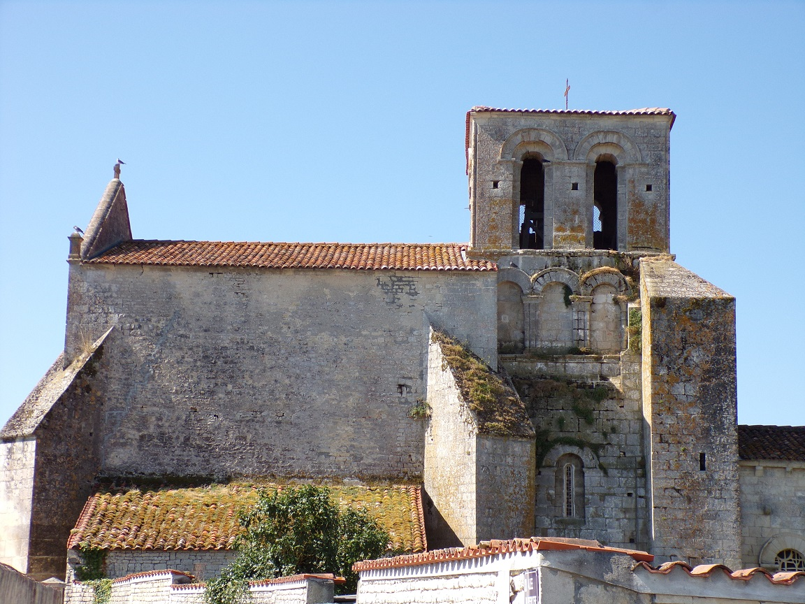 Courbillac - L'église Saint-Aubin (23 juillet 2018)