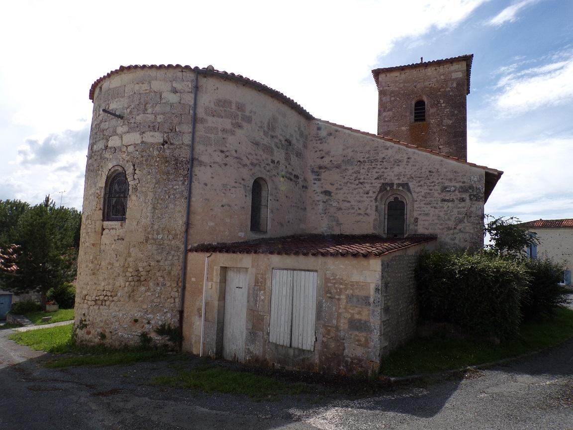 Dompierre-sur Charente - L'église Saint-Blaise (8 juin 2018)