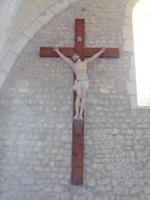 Dompierre-sur Charente - L'église Saint-Blaise - Le Crucifix (8 juin 2018)