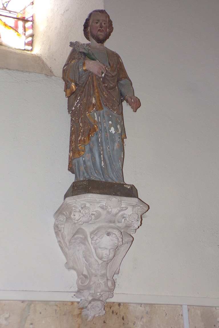 Burie - L'église Saint-Léger (13 avril 2017)