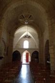Foussignac - L'église Saint-Cybard-et-Saint-Laurent - Vue de l'autel (15 juin 2017)