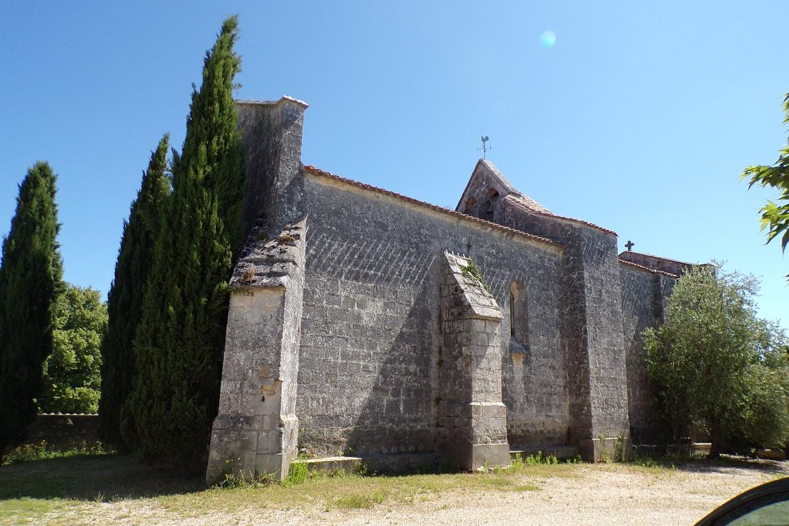 Graves-Saint-Amant - L'église Saint-Amant (10 juin 2017)