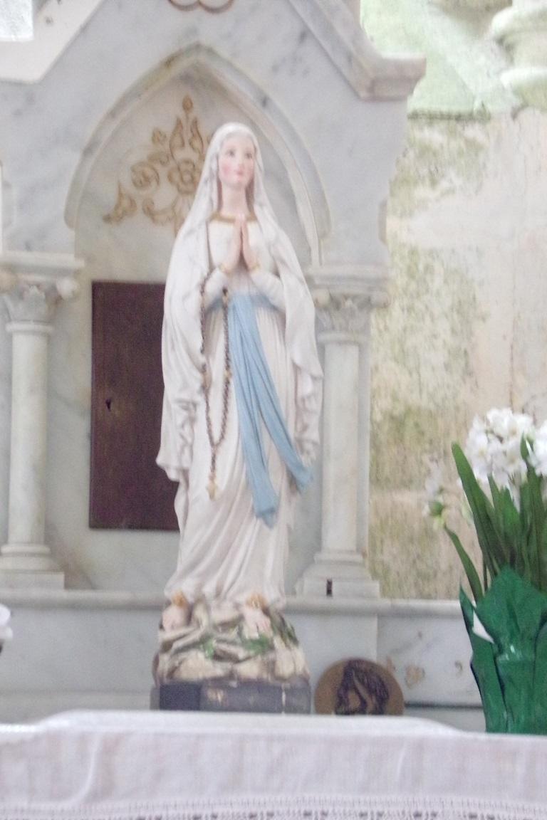 Bouteville - L'église Saint-Paul - Vierge Marie (21 mars 2017)
