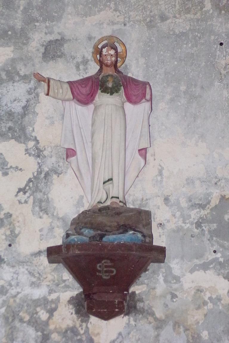 Bouteville - L'église Saint-Paul - Sacré Coeur de Jésus (21 mars 2017)