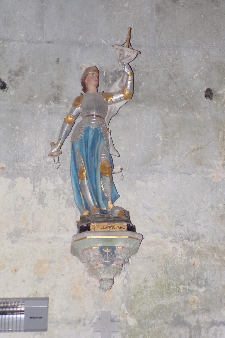 Bouteville - L'église Saint-Paul - Jeanne d'Arc (21 mars 2017)