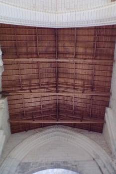 Bouteville - L'église Saint-Paul - Le plafond (21 mars 2017)