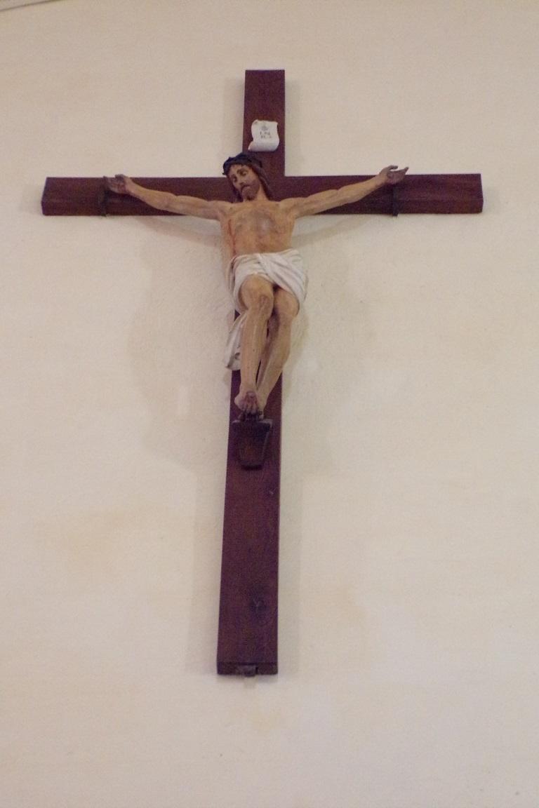 Cherves - L'église Saint-Vivien - Le Crucifix (3 avril 2017)
