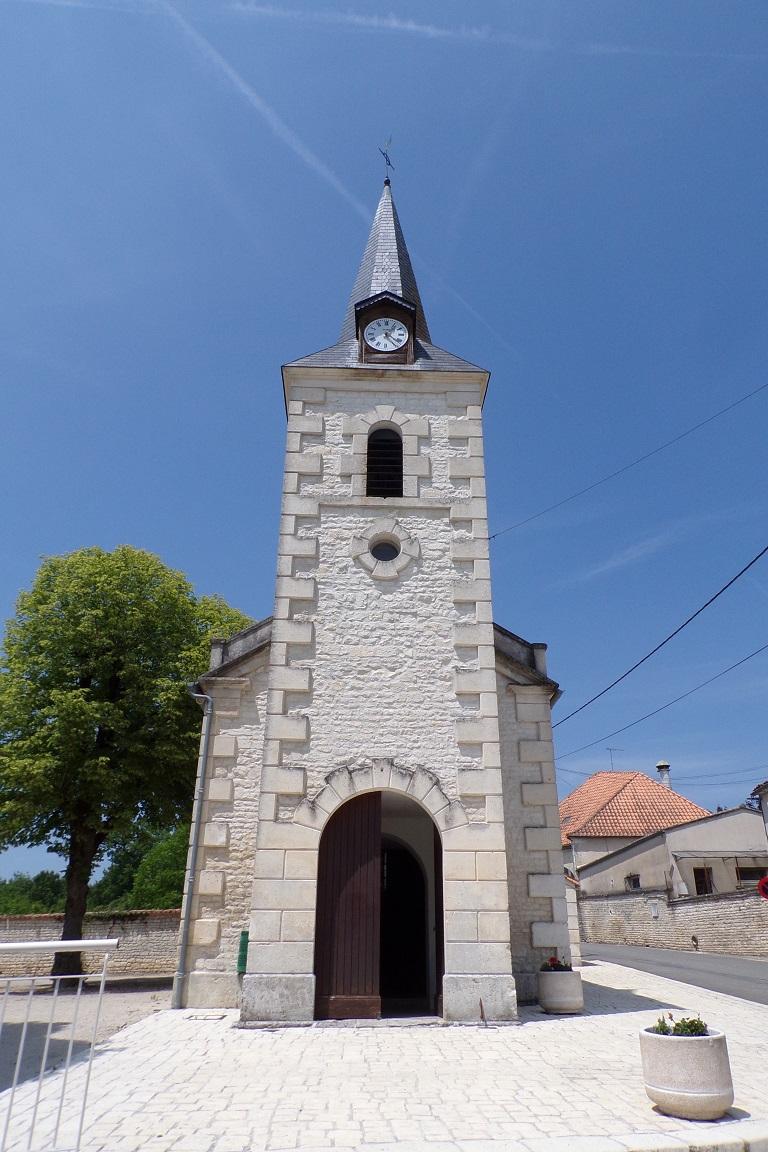 Fleurac - L'église Sainte-Élisabeth (15 juin 2017)