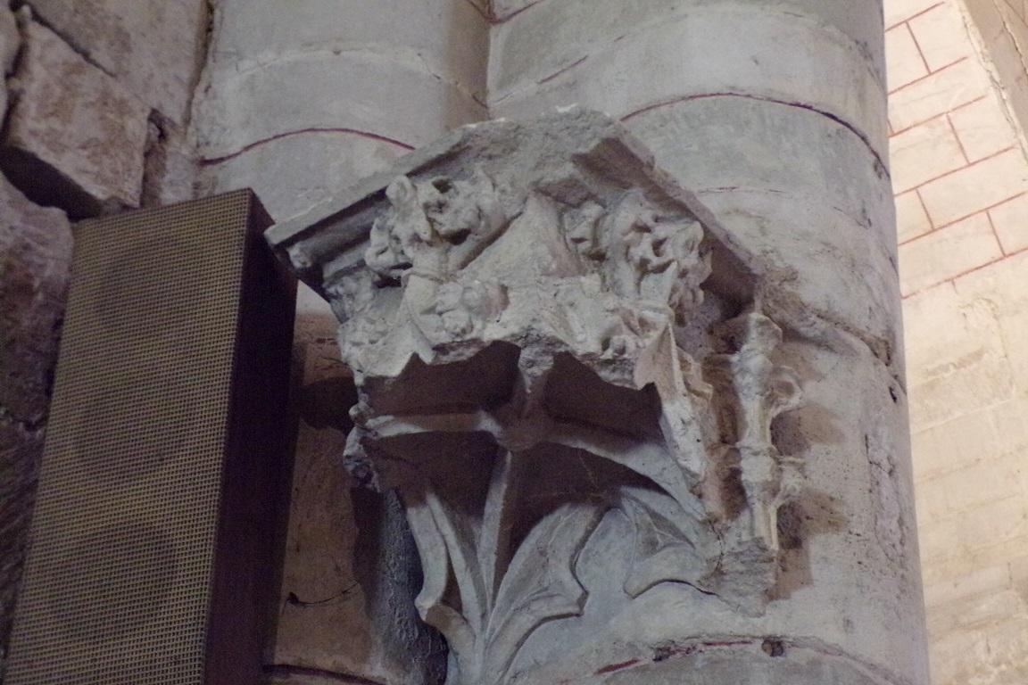 Mérignac - L'église Saint-Pierre - Un modillon (10 juin 2017)