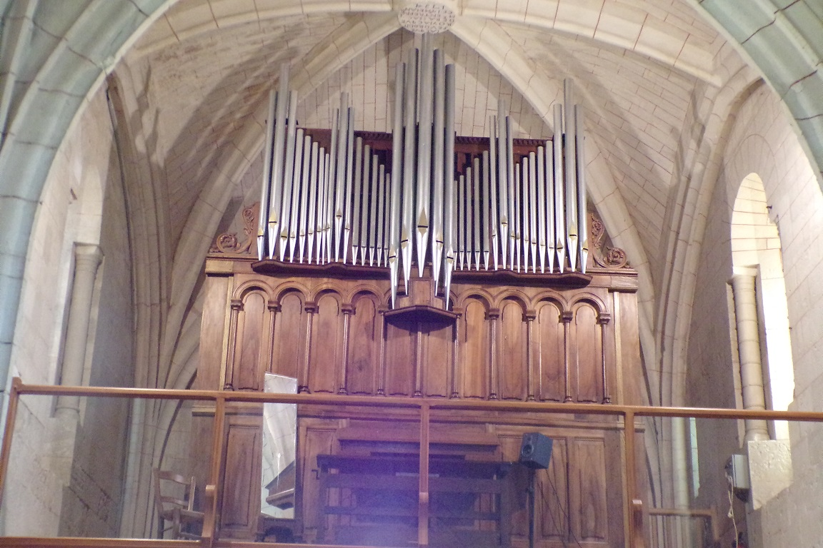 Mérignac - L'église Saint-Pierre - L'orgue (10 juin 2017)
