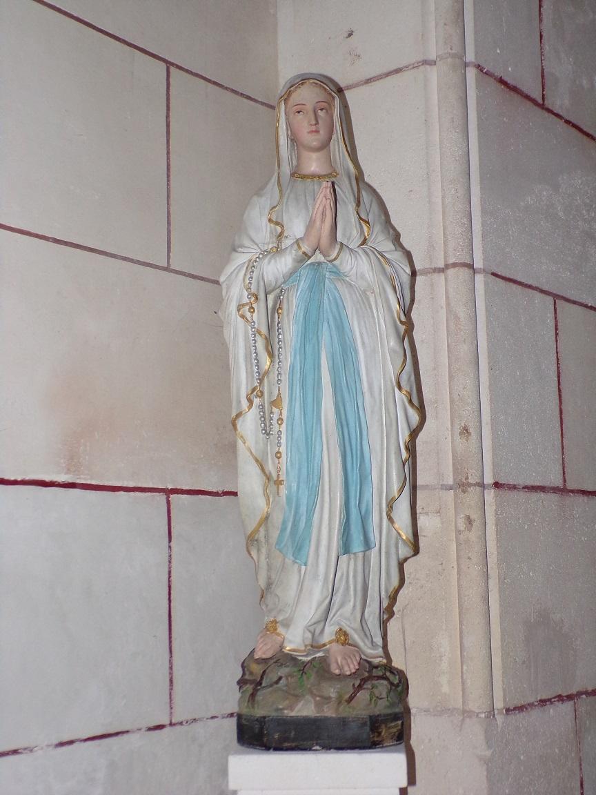 Gondeville - L'église Notre-Dame - Notre-Dame de Lourdes (21 septembre 2019)
