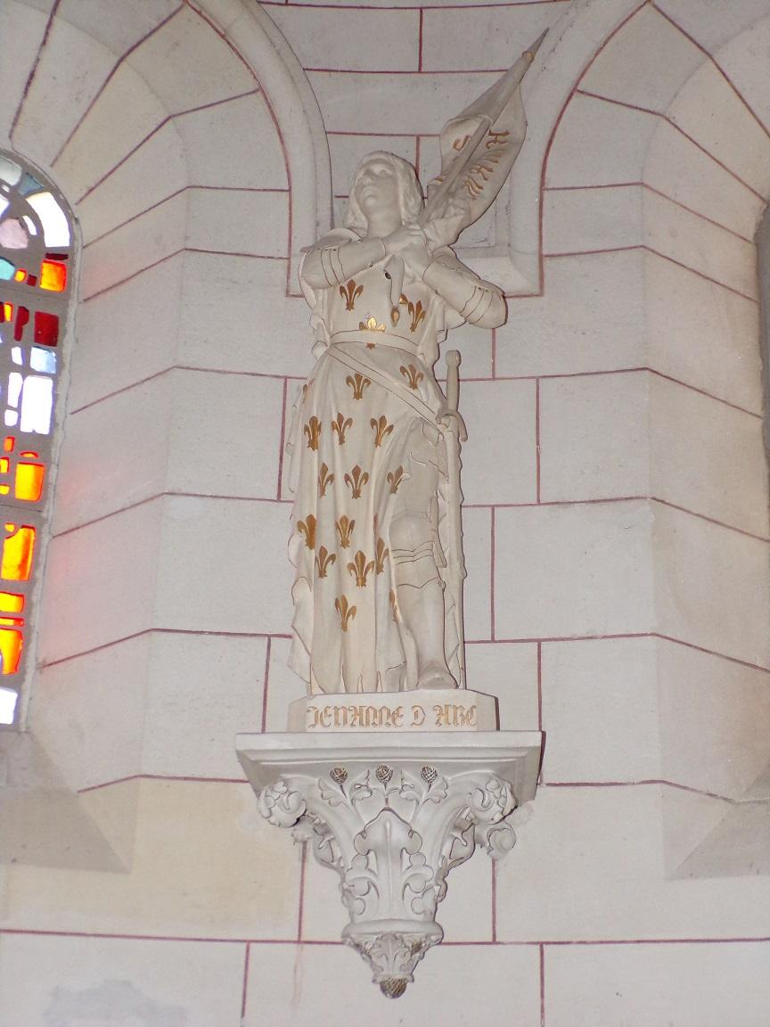 Gondeville - L'église Notre-Dame - Jeanne d'Arc (21 septembre 2019)