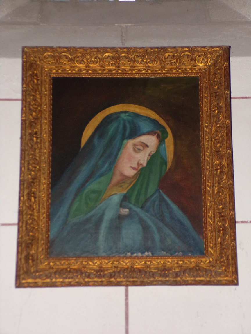 Gondeville - L'église Notre-Dame - Un tableau (21 septembre 2019)
