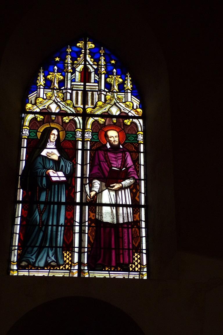 Sonnac - L'église Saint-Etienne - Des vitraux (2 janvier 2018)