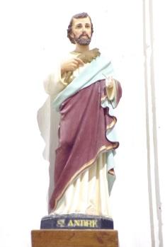Sonnac - L'église Saint-Etienne - Saint André (2 janvier 2018)
