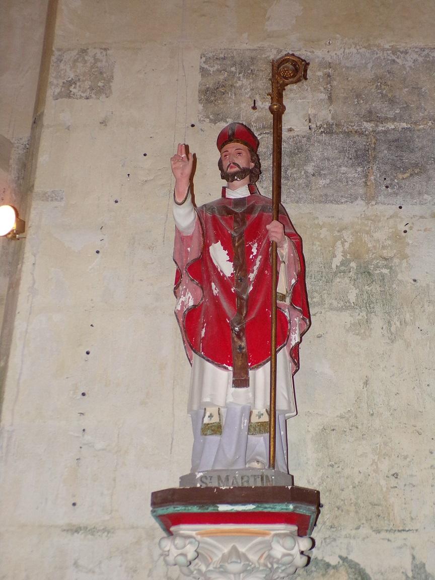 Graves-Saint-Amant - L'église Saint-Martin - Saint Martin (21 septembre 2019)