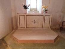 Graves-Saint-Amant - L'église Saint-Martin - L'abside (21 septembre 2019)