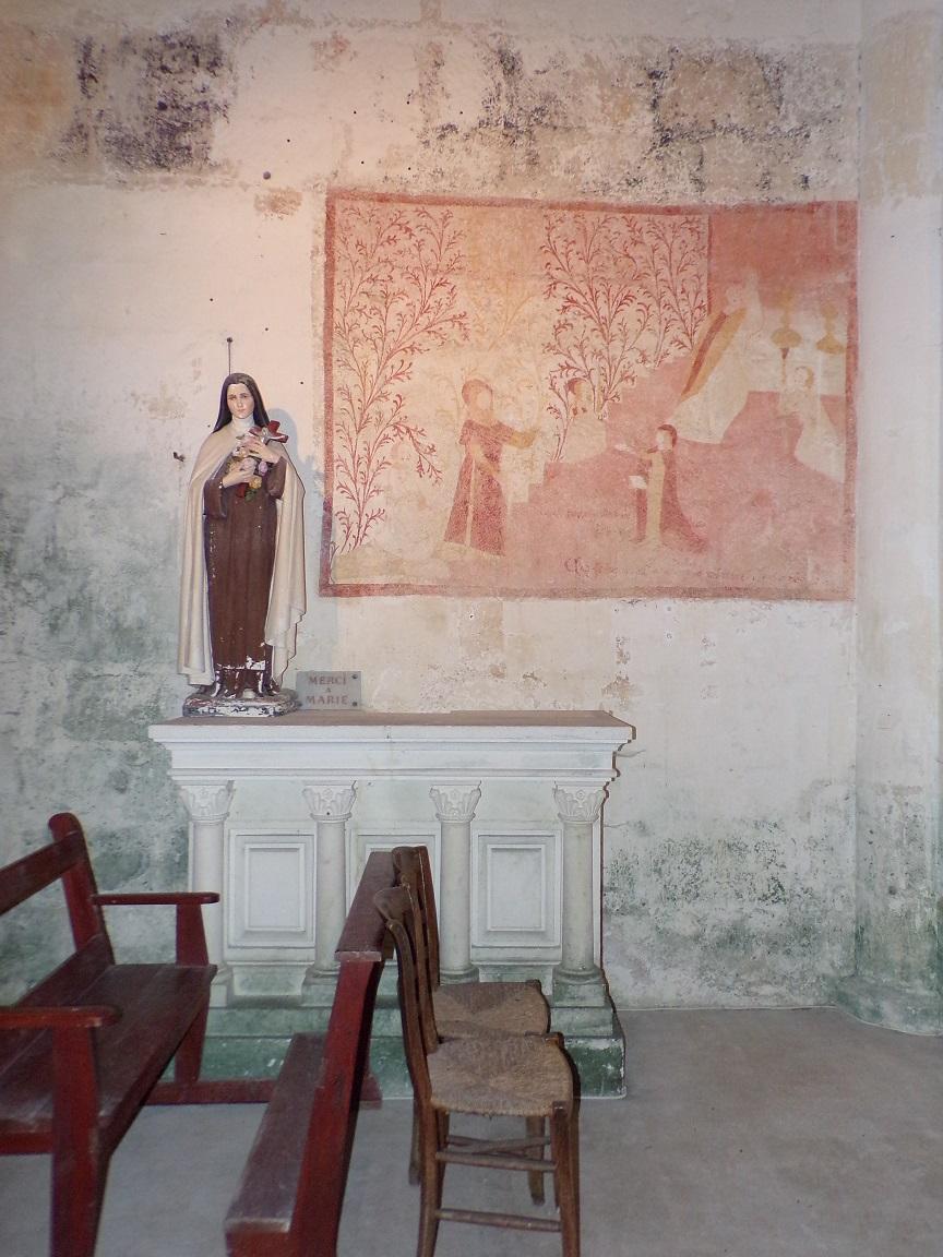 Graves-Saint-Amant - L'église Saint-Martin - Sainte Thérèse de Lisieux (21 septembre 2019)