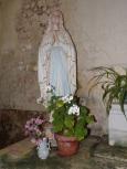 Ambleville - L'église Saint-Pierre - Notre Dame de Lourdes (21 septembre 2019)