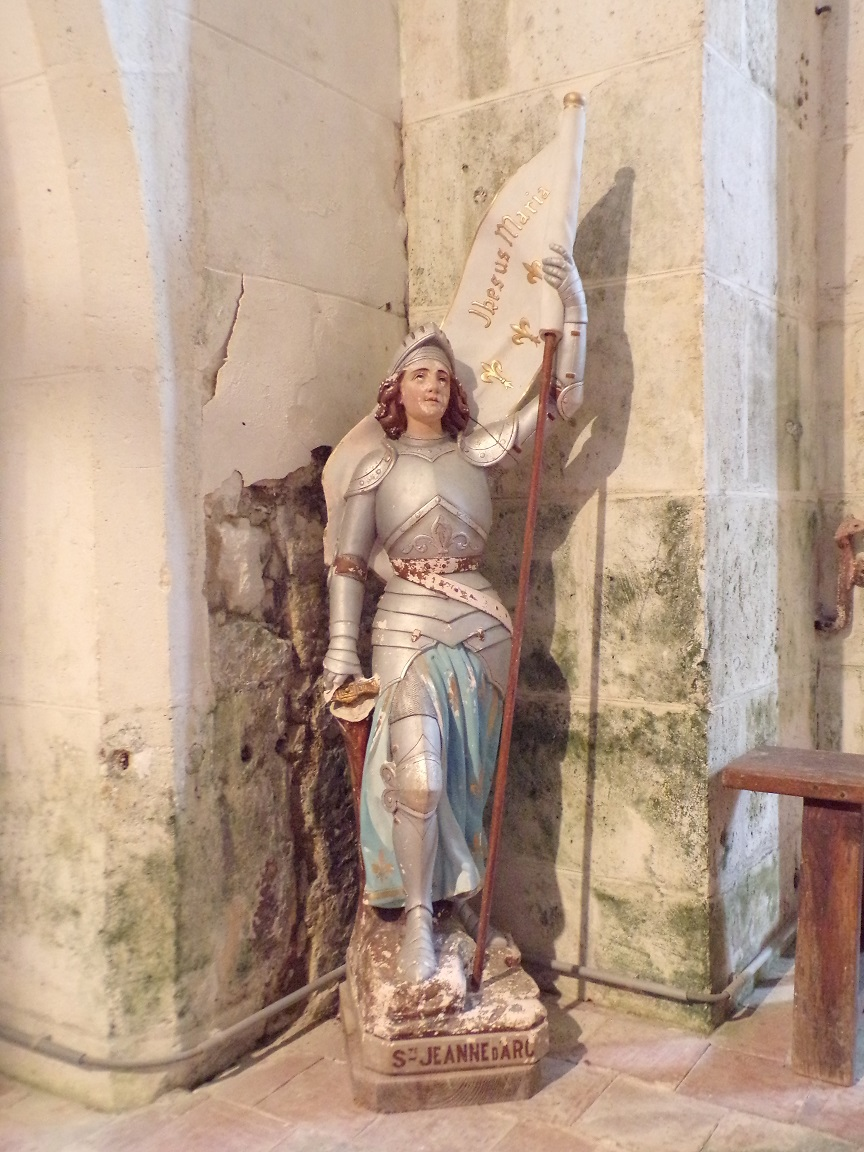 Ambleville - L'église Saint-Pierre - Jeanne d'Arc (21 septembre 2019)