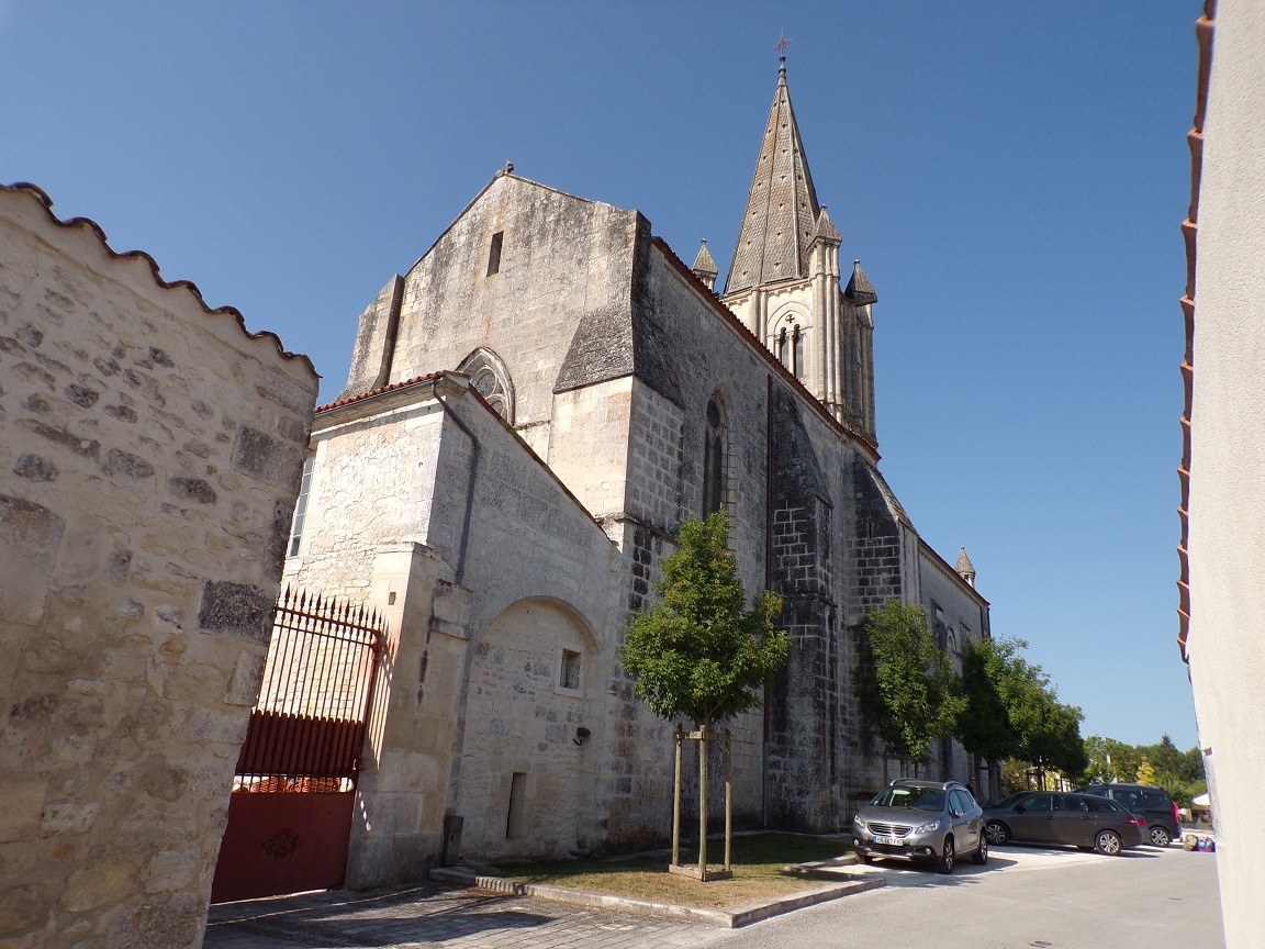 Gensac-la-Pallue – L'église Saint-Martin (15 août 2016)