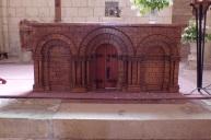 Gensac-la-Pallue – L'église Saint-Martin – L'autel (8 août 2017)