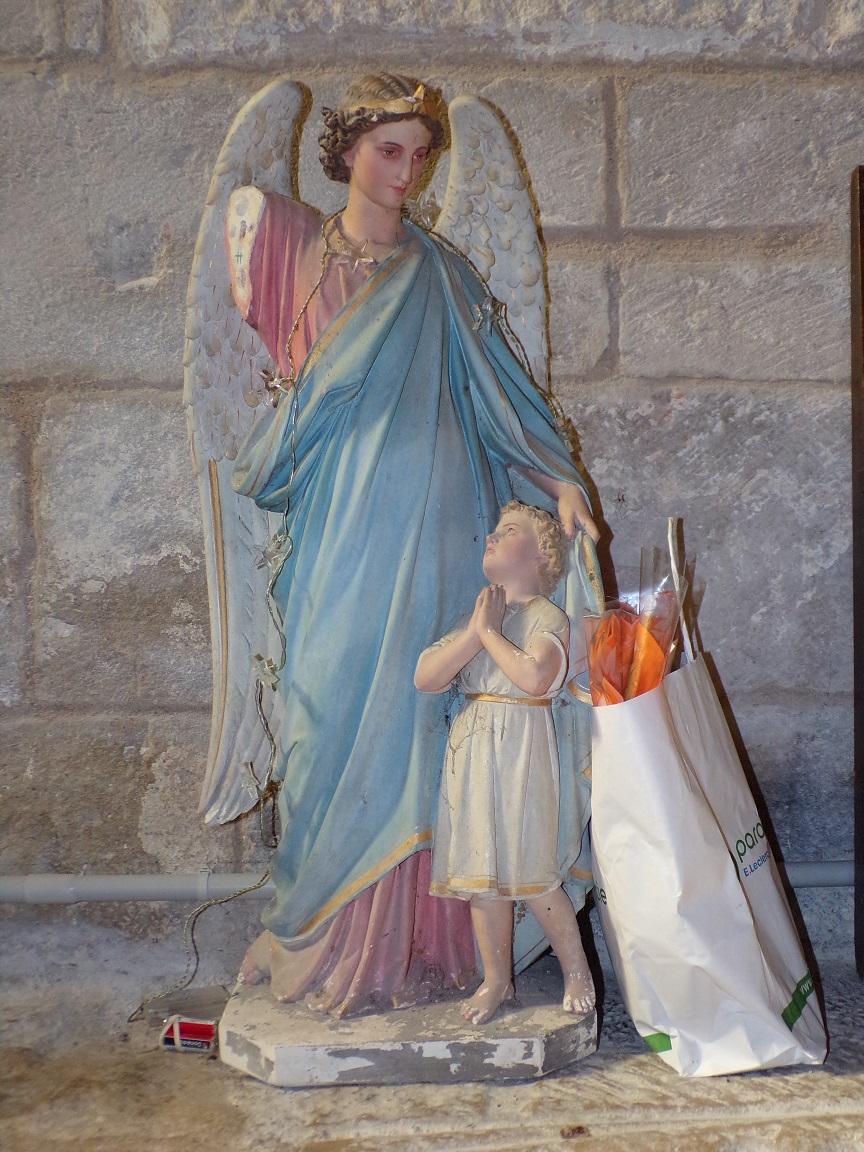 Houlette - L'église Saint Martin - Un ange (19 juillet 2020)