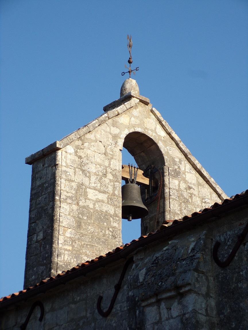 Houlette - L'église Saint Martin - Le clocher (20 août 2018)