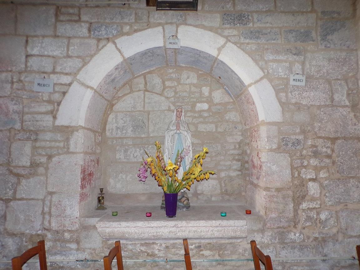 Houlette - L'église Saint Martin - Notre Dame de Lourdes (20 août 2018)
