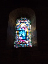 Jarnac - L'église Saint-Pierre - Un vitrail (21 septembre 2016)