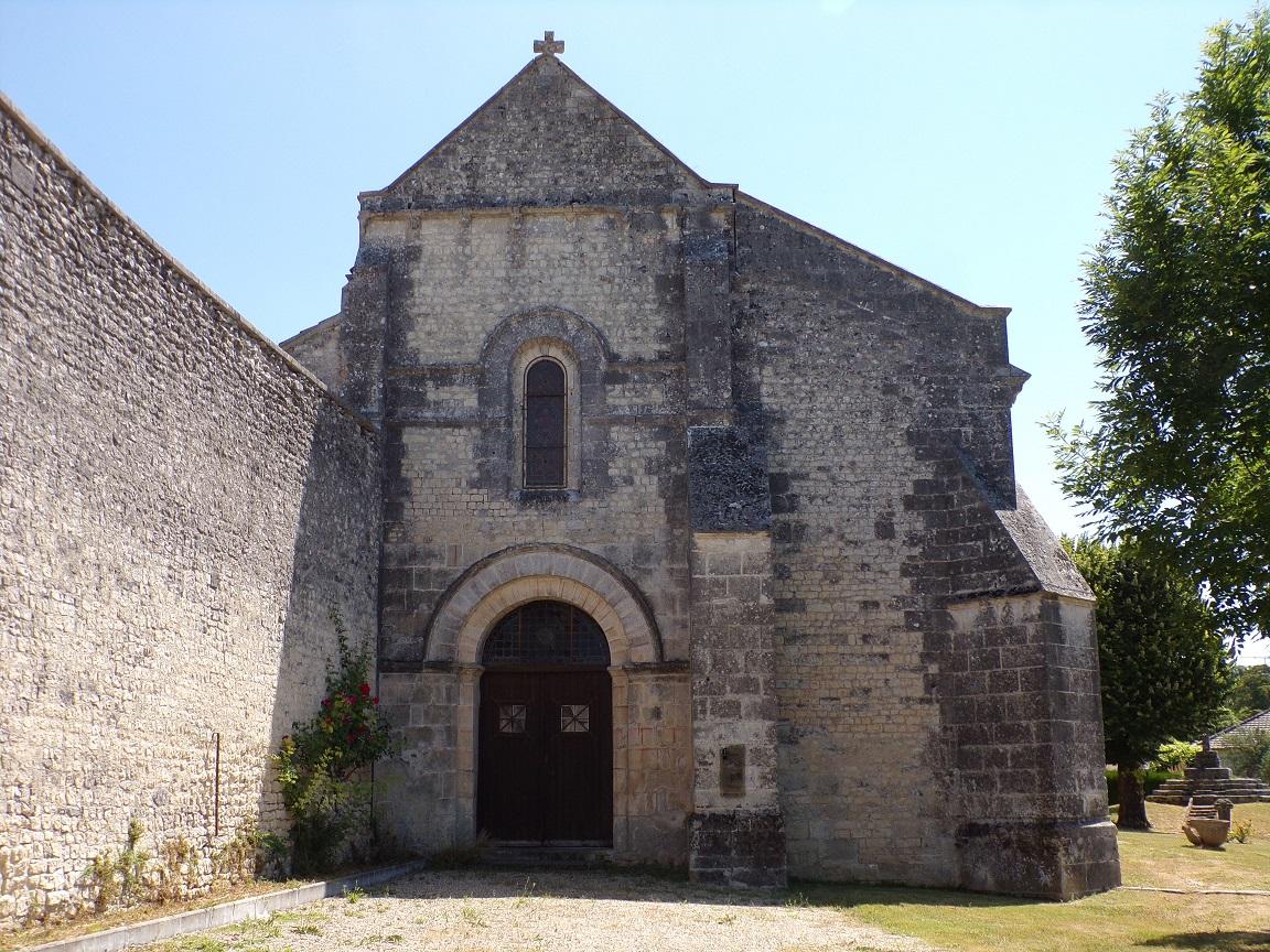 Juillac-le-Coq - L'église Saint-Martin (16 juillet 2019)