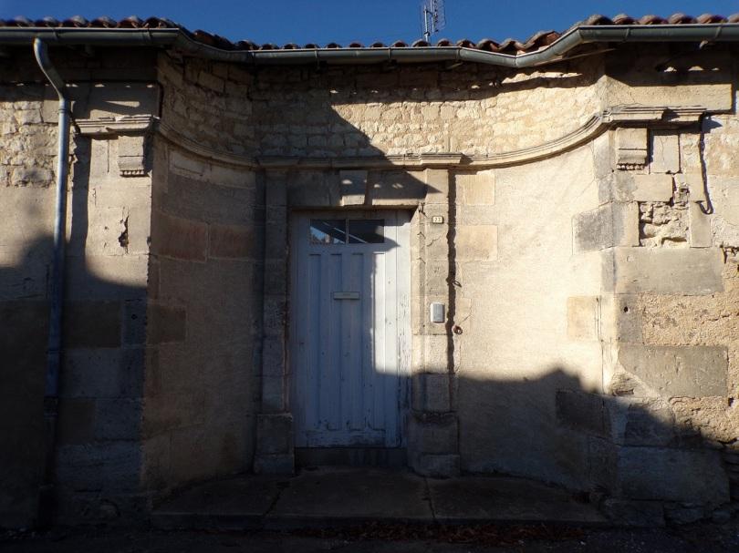 Le manoir, rue Courbe (19 janvier 2021)