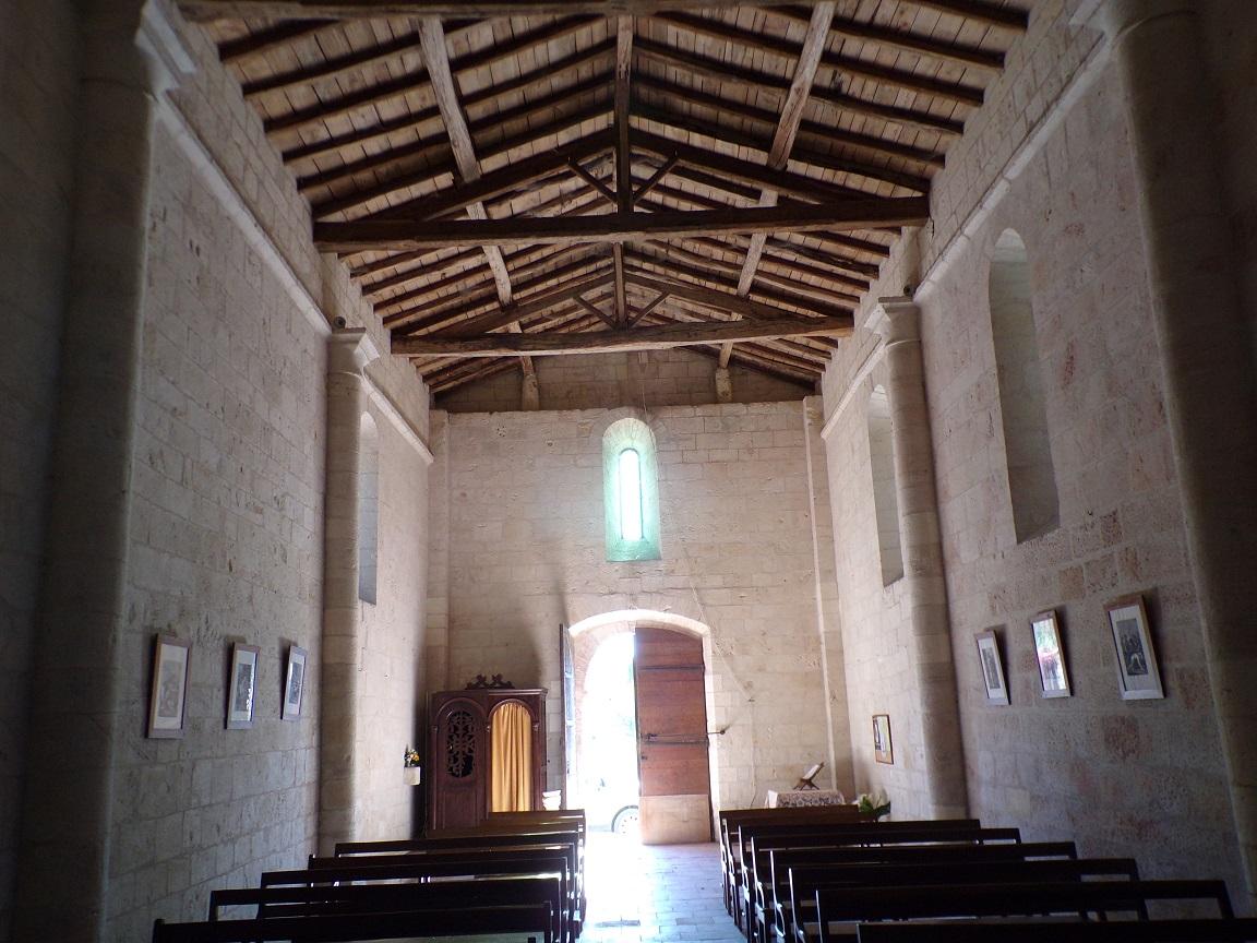 Le Seure - L'église Notre-Dame de l'Assomption - Vue de l'autel (22 juin 2018)