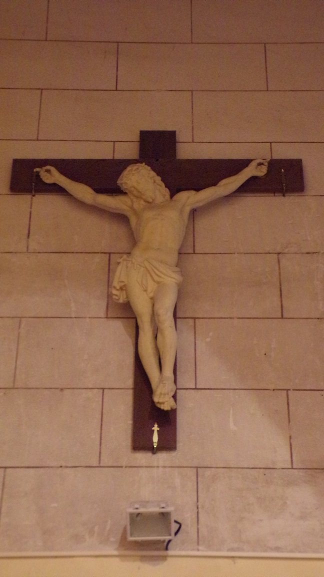 Nercillac - L'église Saint-Germain - Un Crucifix (10 avril 2018)