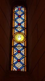 Nercillac - L'église Saint-Germain - Un vitrail (10 avril 2018)